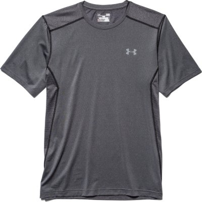 New Under Armour Men's White Raid Fitted T-shirt Tee Crewneck Size 2XL G8-24