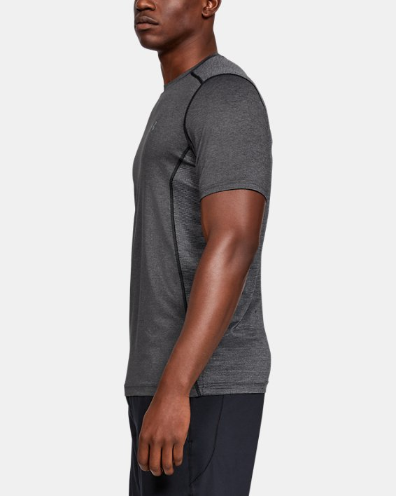 Men's UA Raid Short Sleeve T-Shirt, Gray, pdpMainDesktop image number 5