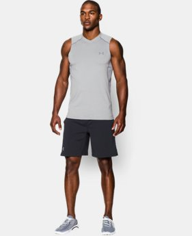 Best Seller Men's UA Raid Sleeveless T-Shirt  4 Colors $29.99