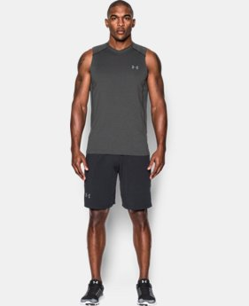 Best Seller Men's UA Raid Sleeveless T-Shirt FREE U.S. SHIPPING 1  Color Available $29.99