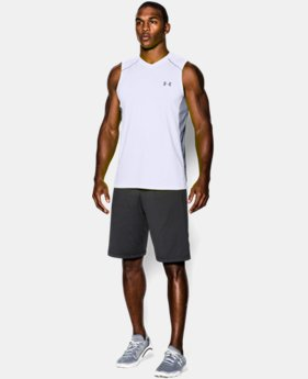 Men's UA Raid Sleeveless T-Shirt LIMITED TIME OFFER 1 Color $20.99