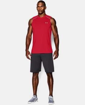 Men's UA Raid Sleeveless T-Shirt  1 Color $17.24 to $22.99