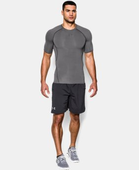 Men's UA HeatGear® Armour Short Sleeve Compression Shirt LIMITED TIME: FREE U.S. SHIPPING 5 Colors $27.99