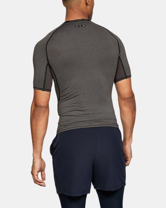 T-shirt Compression UA HeatGear® Armour à manches courtes pour homme, Gray, pdpMainDesktop image number 1