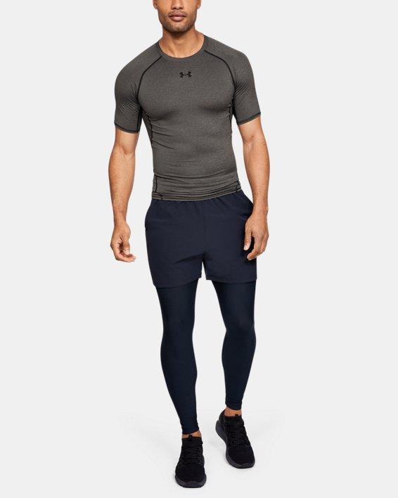 T-shirt Compression UA HeatGear® Armour à manches courtes pour homme, Gray, pdpMainDesktop image number 3