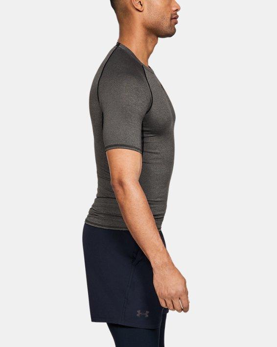 T-shirt Compression UA HeatGear® Armour à manches courtes pour homme, Gray, pdpMainDesktop image number 2