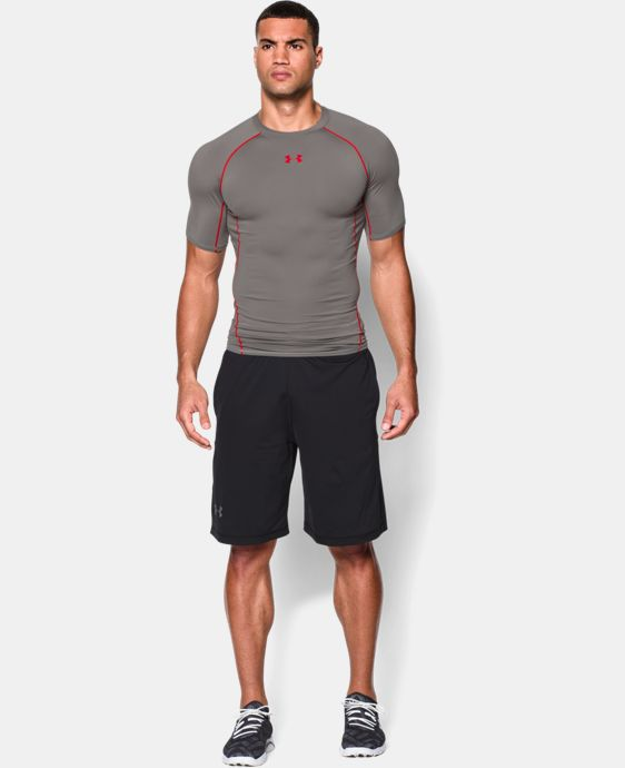 Men's UA HeatGear® Armour Short Sleeve Compression Shirt LIMITED TIME: FREE U.S. SHIPPING 1 Color $16.99