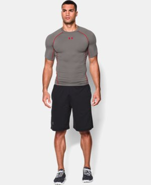 Men's UA HeatGear® Armour Short Sleeve Compression Shirt LIMITED TIME: FREE U.S. SHIPPING 2 Colors $15.74 to $16.99