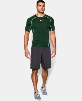Men's UA HeatGear® Armour Short Sleeve Compression Shirt  9 Colors $14 to $19.59
