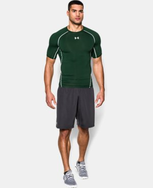 Men's UA HeatGear® Armour Short Sleeve Compression Shirt LIMITED TIME: FREE U.S. SHIPPING 1 Color $27.99