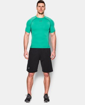 Men's UA HeatGear® Armour Short Sleeve Compression Shirt EXTRA 25% OFF ALREADY INCLUDED 1 Color $18.99