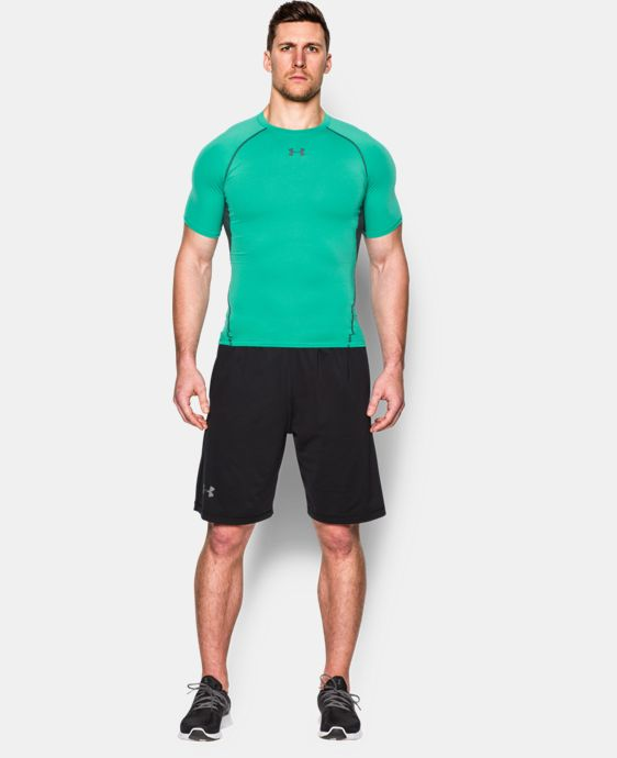 Men's UA HeatGear® Armour Short Sleeve Compression Shirt   $15.74