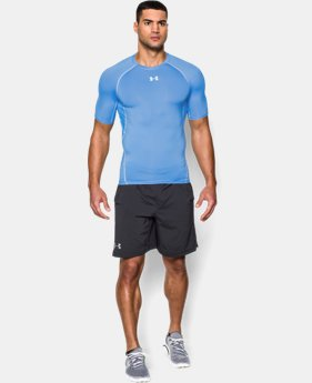 Men's UA HeatGear® Armour Short Sleeve Compression Shirt  2 Colors $22.49