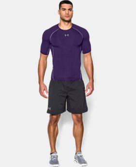 Men's UA HeatGear® Armour Short Sleeve Compression Shirt  1  Color Available $16.79 to $20.99