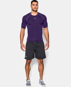 Men's UA HeatGear® Armour Short Sleeve Compression Shirt  1 Color $27.99