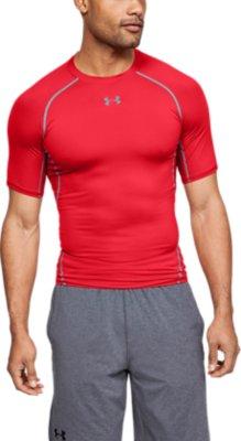 Under Armour UA Men/'s HeatGear Short Sleeve Compression Shirt FREE SHIP 1257468+
