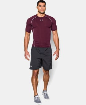 Men's UA HeatGear® Armour Short Sleeve Compression Shirt  1 Color $14 to $19.59