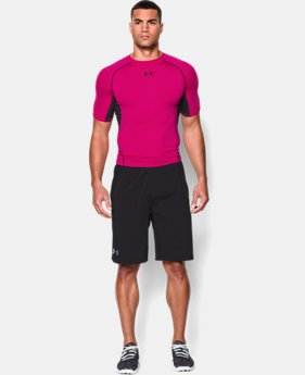 Men's UA HeatGear® Armour Short Sleeve Compression Shirt LIMITED TIME: FREE SHIPPING 4 Colors $27.99