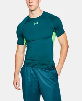 Best Seller Men's UA HeatGear® Armour Short Sleeve Compression Shirt  7 Colors $27.99