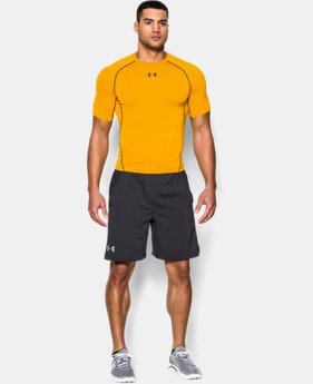 Best Seller Men's UA HeatGear® Armour Short Sleeve Compression Shirt  3 Colors $27.99