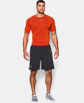 Men's UA HeatGear® Armour Short Sleeve Compression Shirt  4 Colors $16.79 to $20.99