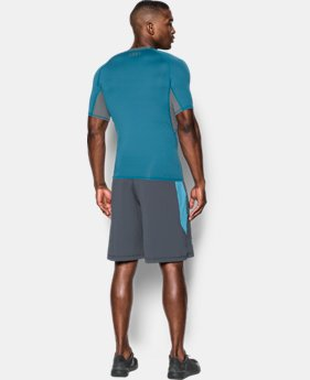 Men's UA HeatGear® Armour Short Sleeve Compression Shirt  3 Colors $17.99 to $22.99