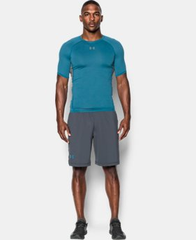 Best Seller Men's UA HeatGear® Armour Short Sleeve Compression Shirt  5 Colors $27.99