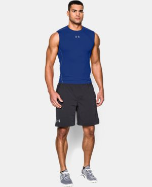 Men's UA HeatGear® Armour Sleeveless Compression Shirt LIMITED TIME: FREE U.S. SHIPPING 2 Colors $24.99