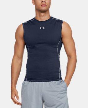 b6c6f5d6aae908 Men s UA HeatGear® Armour Sleeveless Compression Shirt  24.99