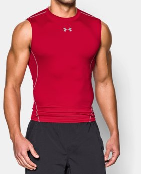 889392f056ea56 Men s UA HeatGear® Armour Sleeveless Compression Shirt 1 Color Available   24.99