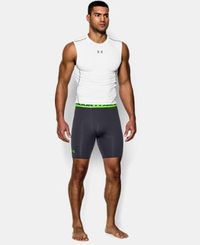 Men's UA HeatGear® Armour Compression Shorts – Mid   5 Colors $14.99 to $18.99