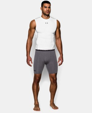 Men's UA HeatGear® Armour Compression Shorts – Mid   8 Colors $24.99