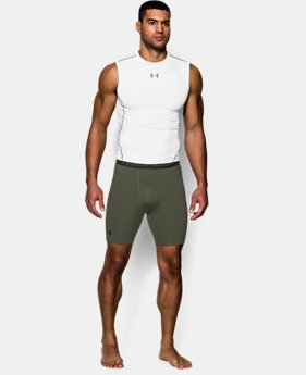 Men's UA HeatGear® Armour Compression Shorts – Mid  LIMITED TIME: FREE U.S. SHIPPING 7 Colors $14.24 to $18.99