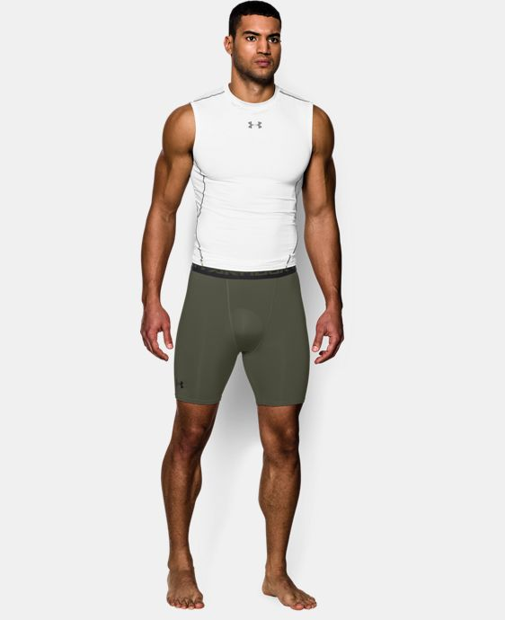 Men's UA HeatGear® Armour Compression Shorts – Mid  LIMITED TIME: FREE U.S. SHIPPING 9 Colors $14.24 to $18.99