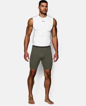 Men's UA HeatGear® Armour Compression Shorts – Mid  LIMITED TIME: UP TO 50% OFF 1 Color $14.24 to $18.99