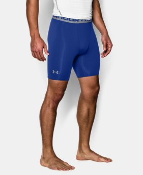 Men's UA HeatGear® Armour Compression Shorts – Mid   4 Colors $14.24 to $18.99