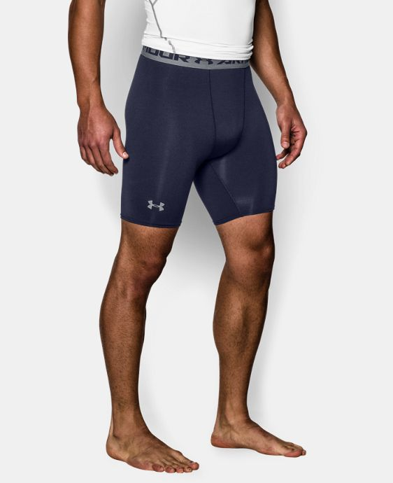 Men's UA HeatGear® Armour Compression Shorts – Mid  LIMITED TIME: FREE U.S. SHIPPING  $24.99