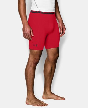 Men's UA HeatGear® Armour Compression Shorts – Mid  LIMITED TIME: FREE U.S. SHIPPING  $14.24