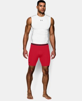 Men's UA HeatGear® Armour Compression Shorts – Mid   2 Colors $29.99