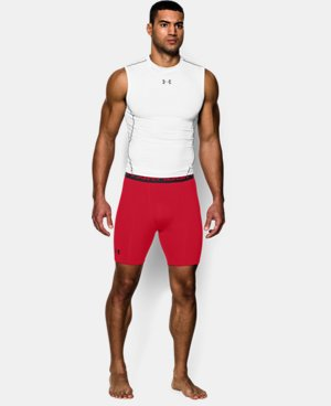 Men's UA HeatGear® Armour Compression Shorts – Mid    $24.99