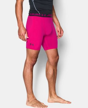 Men's UA HeatGear® Armour Compression Shorts – Mid    $14.24 to $18.99