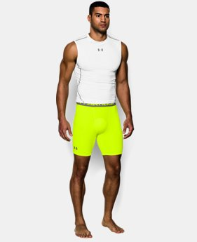 Men's UA HeatGear® Armour Compression Shorts – Mid  LIMITED TIME: FREE U.S. SHIPPING 2 Colors $14.24 to $18.99