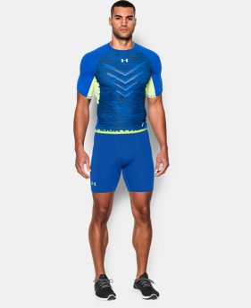 Men's UA HeatGear® Armour Compression Shorts – Mid   2 Colors $18.99