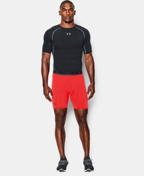 Men's UA HeatGear® Armour Compression Shorts – Mid   1 Color $14.99 to $18.99