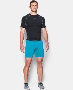 Men's UA HeatGear® Armour Compression Shorts – Mid   1 Color $18.99