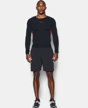 Men's UA HeatGear® Armour Long Sleeve Compression Shirt LIMITED TIME: FREE U.S. SHIPPING  $20.24 to $26.99