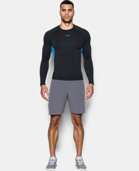 Best Seller  Men's UA HeatGear® Armour Long Sleeve Compression Shirt  15 Colors $39.99