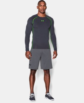 Men's UA HeatGear® Armour Long Sleeve Compression Shirt LIMITED TIME: FREE U.S. SHIPPING  $20.24 to $34.99