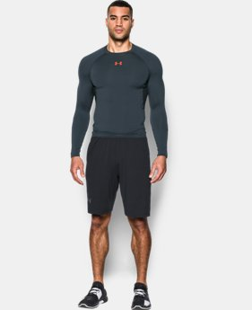 Best Seller  Men's UA HeatGear® Armour Long Sleeve Compression Shirt  14 Colors $39.99
