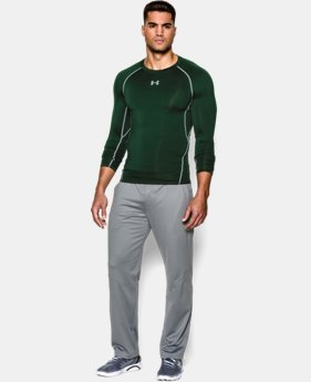 Men's UA HeatGear® Armour Long Sleeve Compression Shirt EXTENDED SIZES 1 Color $34.99